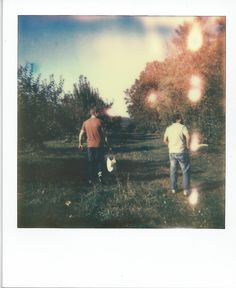 Into the distance, via Flickr. Polaroid Impossible Project