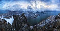 In heaven on Hoven - If you ever happen to come to the Lofoten Islands you have to hike on one of it´s amazing mountains.