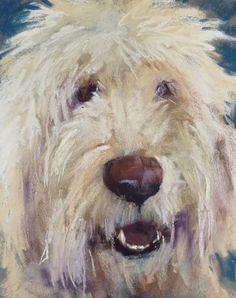 Painting a Pet Portrait in Pastel, painting by artist Karen Margulis