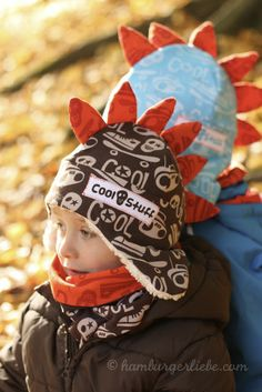 Hamburger Liebe: Cool Stuff for warm Ears – Tutorial for dinosaur hat - German