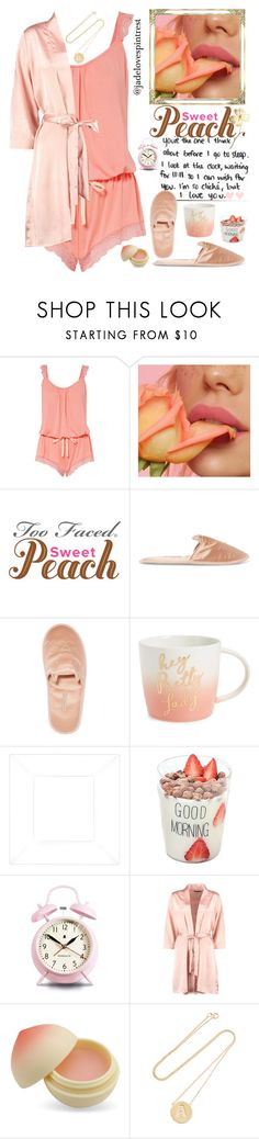 """""""💋The Love Letter💕"""" by jadelovespintrest ❤ liked on Polyvore featuring Again, Eberjey, Charlotte Olympia, Slant, Newgate, TONYMOLY and Jennifer Meyer Jewelry"""