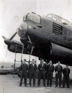 Four engined heavy bomber. This example, serial number was originally powered by four Rolls-Royce Merlin XX 12 cylinder liquid-cooled engines, with a single stage centrifugal supercharger, but was later fitted with Merlin 22 engines while in Australia. Air Force Bomber, Air Force Aircraft, Navy Aircraft, Ww2 Aircraft, Military Aircraft, Lancaster Bomber, Ww2 Photos, Aircraft Design, Royal Air Force