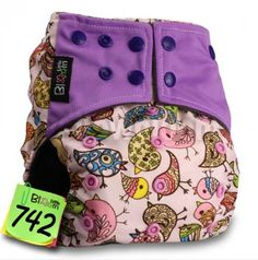 Little Bloom One Size Adjustable Bamboo Charcoal Cloth Pocket Diapers