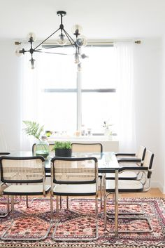 Simple and modern dining room