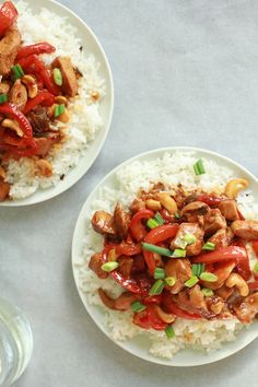 Kung Pao Chicken from Half Baked Harvest Wine Recipes, Asian Recipes, Healthy Recipes, Fast Easy Meals, Half Baked Harvest, Tasty Bites, Yum Yum Chicken, Kung Pao Chicken, Food For Thought