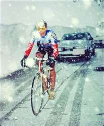 Andy Hampsten-Only American to win the Giro d'italia.
