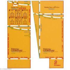 Gabarit de sac Clover Nancy Zieman - Sacs Florida fourre-tout http://www.creavea.com/gabarit-de-sac-clover-nancy-zieman-sacs-florida-fourretout_boutique-acheter-loisirs-creatifs_42473.html