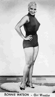 Bonnie Watson - Ladies Pro Wrestling