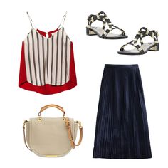 Polished Patriotism: Chic July 4th Outfits | The Zoe Report