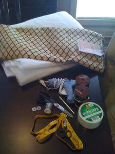 no sew, no wood cornice boards