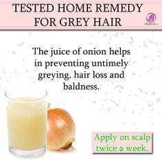 GREY HAIR REMEDY  with ONION JUICE  #homeremdy #greyhair #remedy #tips #hairtips #haircare