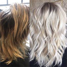 MAKEOVER: Gentle Highlights To Bold Blonde - Hair Color - Modern Salon