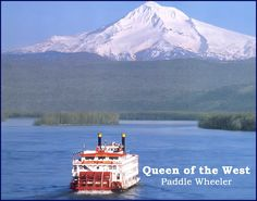 Queen of the West Cruise Ship on the Columbia River