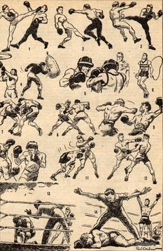 Savate — French Kickboxing — Paul Ordner — 1930