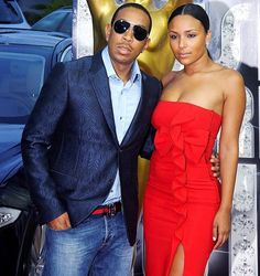 Ludacris and date blue blazer jeans shirt red cocktail dress - Photo 507064 Hollywood Couples, Celebrity Couples, Cute Couple Pictures, Couple Pics, Ludacris, Blazer With Jeans, Red Cocktail Dress, Latest Celebrity News, Couples In Love