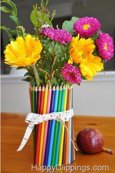 Siedem prostych rzemiosło na Narodowy Dzień Appreciation Nauczycieli 7 maja