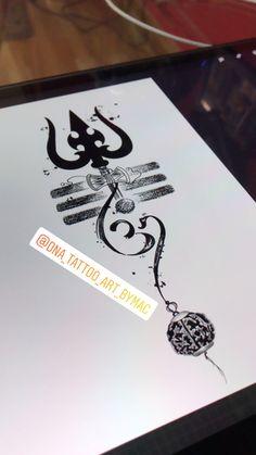 Krishna Tattoo, Ganesh Tattoo, Hindu Tattoos, Buddha Tattoos, Mehndi Tattoo, Maa Tattoo Designs, Trishul Tattoo Designs, Shiva Tattoo Design, Eagle Wing Tattoos