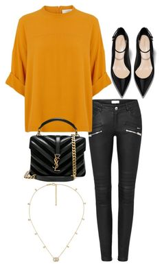 """""""#534"""" by anna-siegl on Polyvore featuring Yves Saint Laurent and Gucci"""