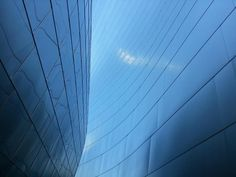 Walt Disney Concert Hall in Downtown Los Angeles, CA.  Love this place!  --  Cell phone pic