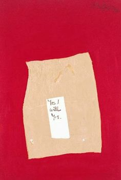 A Robert Motherwell collage