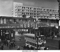 Berlin Alexanderplatz, 1935 Stockbild