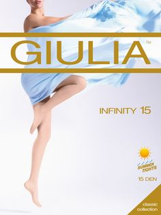 Giulia Infinity 15 Denier Tights Sheer To Waist all Sizes up to XL Classic Collection, Infinity, Tights, Summer, Movie Posters, Den, Summer Time, Navy Tights, Infinite