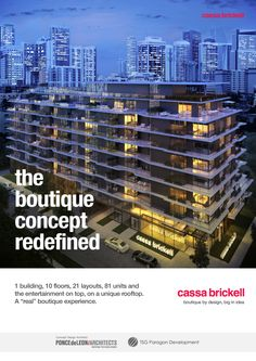 #CassaBrickell The #boutique concept redefined. #ModernLiving #MiamiLovers