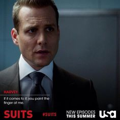 Harvey Quotes - Suits USA