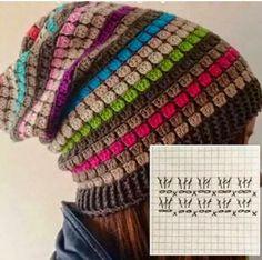 CARAMELO DE CROCHET: crochet beanie tomado del face