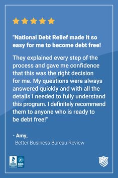 Being deep in debt is a very stressful situation. At National Debt Relief, we reduce that stress by building you a plan to become financially free. Our team will work tirelessly to analyze your situation, negotiate the best terms possible with your creditors, and help you get control of your debts and start reducing them. Head to our website and apply today to see if you qualify for debt relief. #FinancialConfidence #DebtPayoff National Debt Relief, Debt Consolidation, Debt Payoff, Debt Free, Confidence, Give It To Me, Stress, How To Apply, Deep
