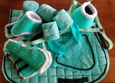 *HOT colour* Mint Matchy Matchy Set. Affordable, matching tack sets for your horses!