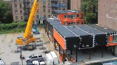 Watch A New Prefab Building Rise In NYC, Stack By Stack | Co.Design: business + innovation + design