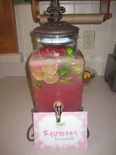 "Photo 2 of 7: Rain & Umbrella Baby Shower {Pink & Green} / Baby Shower/Sip & See ""April Showers Bring May Flowers"" 