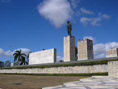 A view of the Che Guevara memorial in Santa Clara , Villa Clara , Cuba.