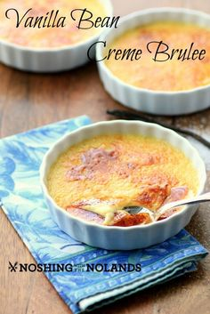 Vanilla Bean Creme Brulee by Noshing With The Nolands