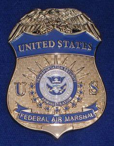 US Police Badges Sale   ... Federal Air Marshal Badge ( US Federal police badge / Polizeimarke