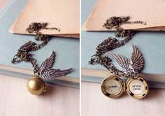 Harry Potter Golden Snitch Necklace Pendant