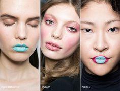 Fall/ Winter 2016-2017 Makeup, Beauty Trends: Eccentric Makeup