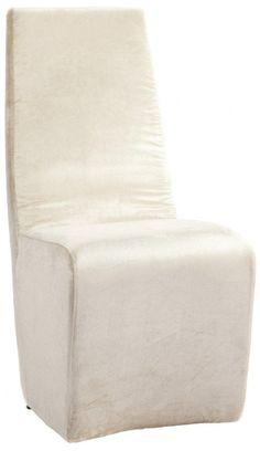 Этот оригинальный стул выглядит единым монолитом. Высокая слегка изогнутая спинка плавно переходит в мягкое сидение, напоминающее куб с закругленными краями. Необычная форма изделия, спинка, идеально поддерживающая тело, - в этом дизайне удивительно сочетаются строгость формы и продуманная функциональность. Home Boutique – первая линия мебели DG HOME, которую характеризуют высокое качество, функциональность и  выразительный дизайн.  Большой выбор тканей и дерева, всевозможные размеры…