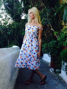 Bellisima Dress/Romantic Bohemian Dress/Prairie by LydiaLoveVtg