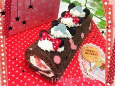 Minnie roll cake