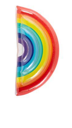 Luxe Rainbow Pool Float