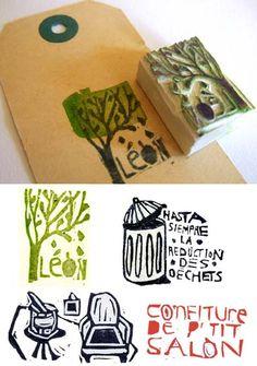 stamp by matild gros
