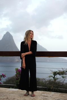 Lucy-Williams | Reformation | Caribbean | All Black | Minimal and Effortless | Island Style | Relaxed and undone | HarperandHarley