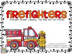 FREEBIE!  Emergent reader, labeling, ten frames