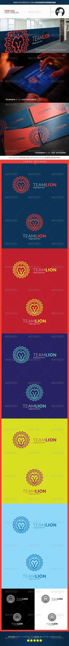 Team Lion - Logo Template