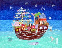 Noah's Ark #48 by Martha Tominaga