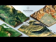 How to create a 3D Terrain with Google Maps and height maps in Photoshop - 3D Map Generator Terrain - YouTube Photoshop Tutorial, 3d Tutorial, Digital Art Tutorial, Adobe Software, 3d Landscape, Video Effects, Photoshop Effects, Adobe Photoshop, Cartography