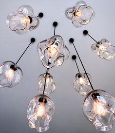 Designed and made by Oliver Höglund. Hand-blown Glass Pendant Lights. Give your empty stairwell or entrance void a one of a kind statement piece with our VØLT Pendants. An organic design that ensures no two pieces are the same, giving you a truly aesthetic piece for your space. Made in Nelson, New Zealand.