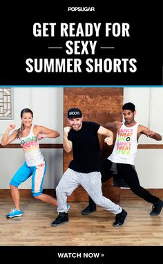 "Groove Your Way to Dancer's Legs: 10-Minute Workout ""We be Clubbin'""workout. A true #TBT moment. Awesome 10 minute workout to incorporate throughout the day. @fitsugar"